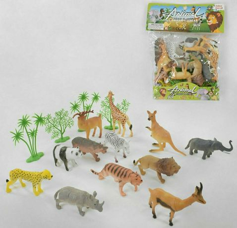 Набор диких, домашних животных, Игра Животные нашей планеты