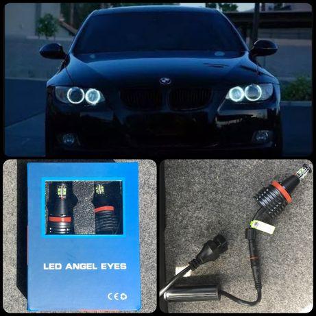 Lâmpadas Angel Eyes LED 80W (Branca) BMW E90 E91 E92 E81 E82 E87 E60