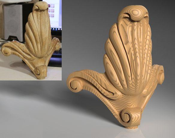 3D проектування настройка та фрезеровка ЧПУ, CNC, 3Д