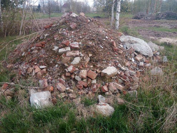 Oddam Gruz budowlany kamienie ziemia z pisakiem
