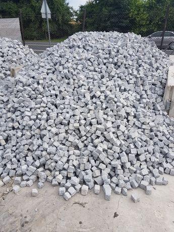 Kostka granitowa, bruk 4-6 szara