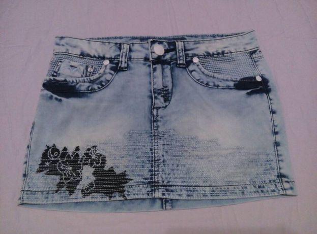 Детские джинсовые юбки