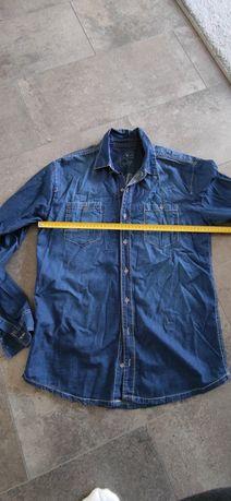 Koszula jeansowa L chlopieca