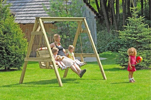 1000Huśtawka ogrodowa z ławką nr 66038