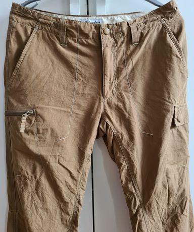 Columbia męskie spodnie outdoorowe r 32, m/l bojówki