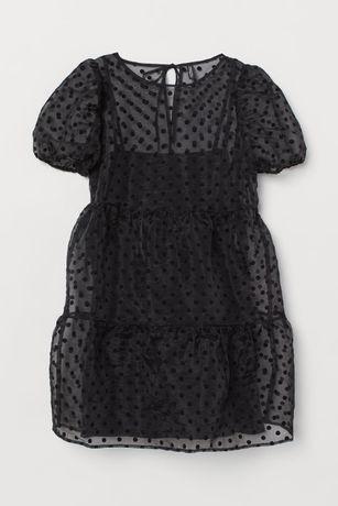 Платье с пышными рукавами, фирмы H&M (Англия)