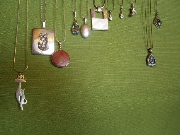 naszyjniki i zawieszki srebro