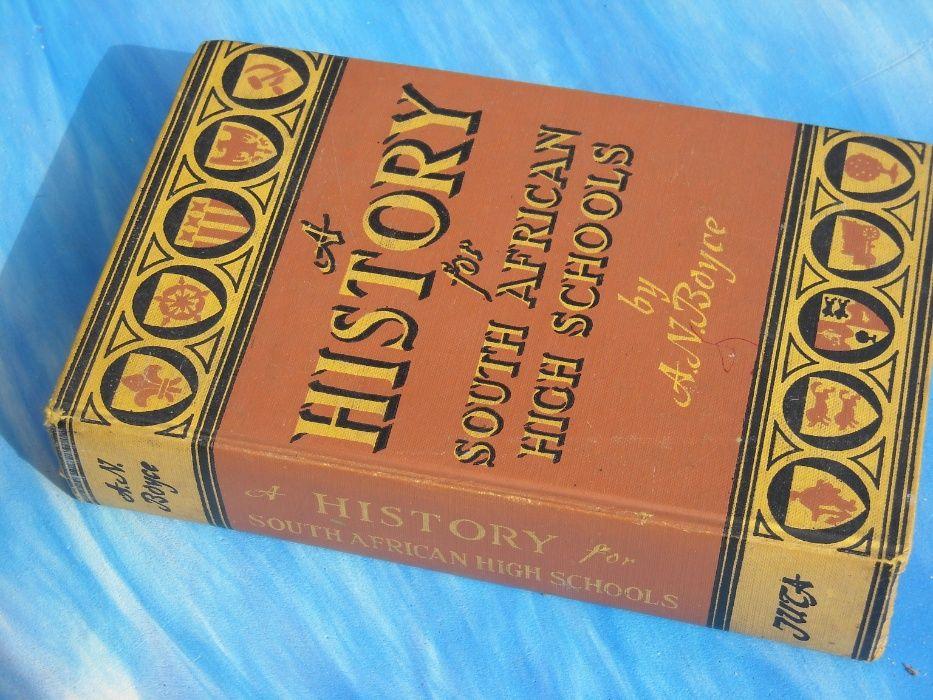 Livro historia em Ingles - A History de A N. Boyce Parque das Nações - imagem 1