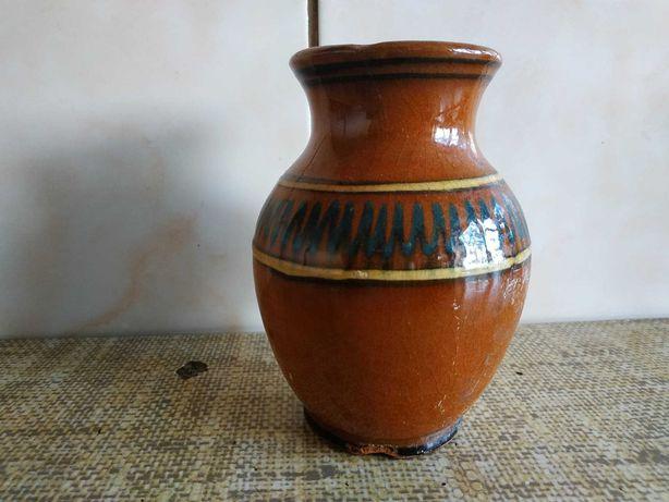 Sprzedam oryginalny dzbanek wazon aztecki wzory ceramika