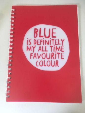 Caderno Vermelho A4