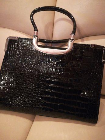 Duża elegancka torebka