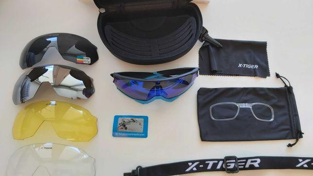 Óculos desportivos para ciclismo NOVOS