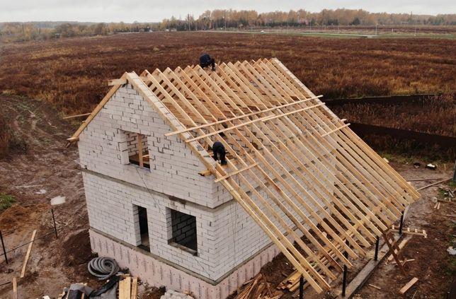 Выполняем ремонт и строительство крыш, заборы, плоская кровля.