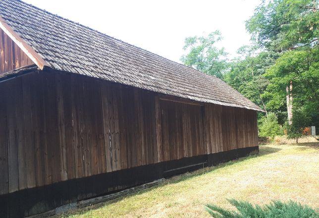 skup starego drewna rozbiórki stodół deski stodoła
