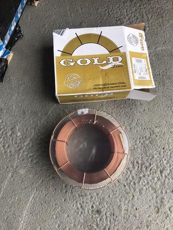 Drut spawalniczy 1 i 1,2 gold