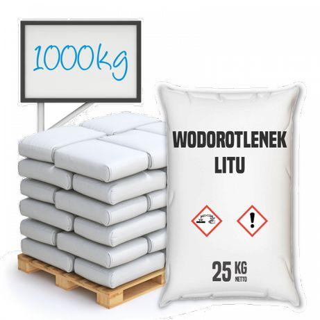 Wodorotlenek litu (monohydrat) 1000 kg