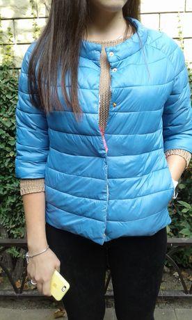 Весенняя утепленная куртка итальянская