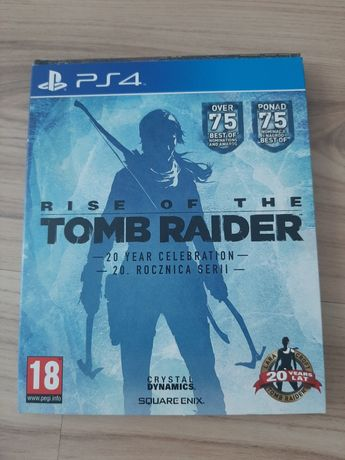 Gra na PS4 Rise of the Tomb Rider