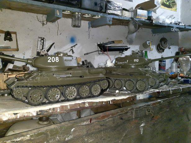 Делаю на заказ. Танк Т34/85 металическая модель на радиоуправлении