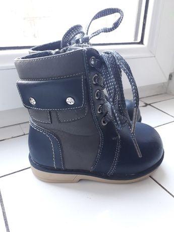 Детские зимние ботинки /сапожки на девочку-мальчика Шалунишка 22 разме