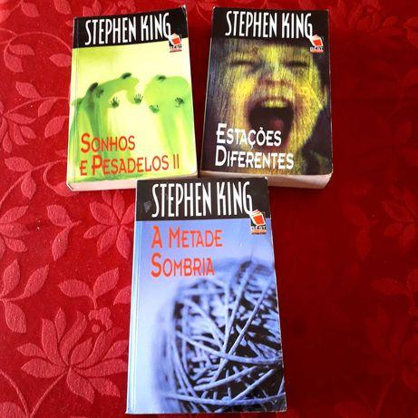 Stephen King - Sonhos e Pesadelos 2/Estações Diferentes - BOM estado