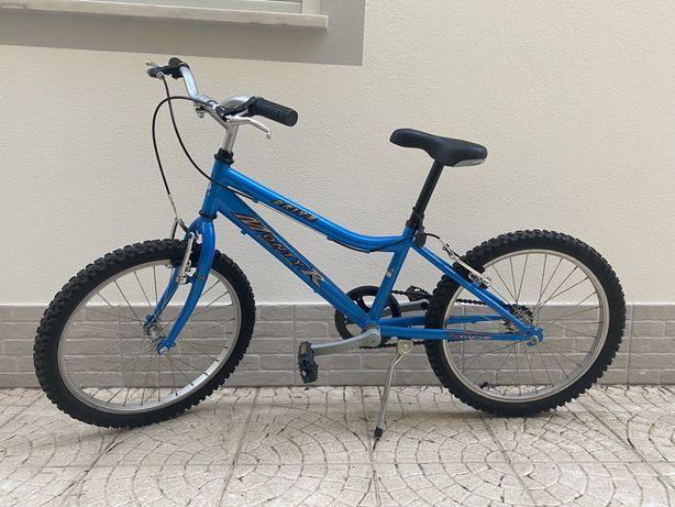 Bicicleta p/criança azul Monty R. Como nova!