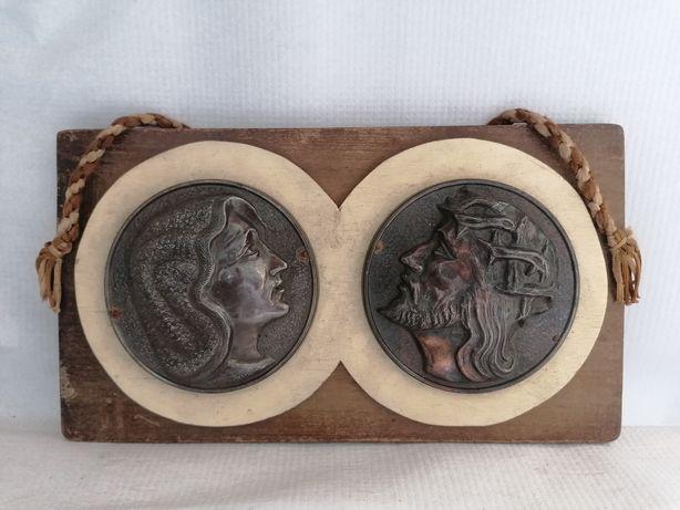 Sprzedam obrazek na desce Maryja i Jezus polecam