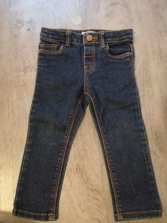 Spodnie rurki jeansowe Mango