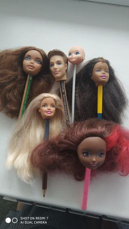 Головы кукол барби