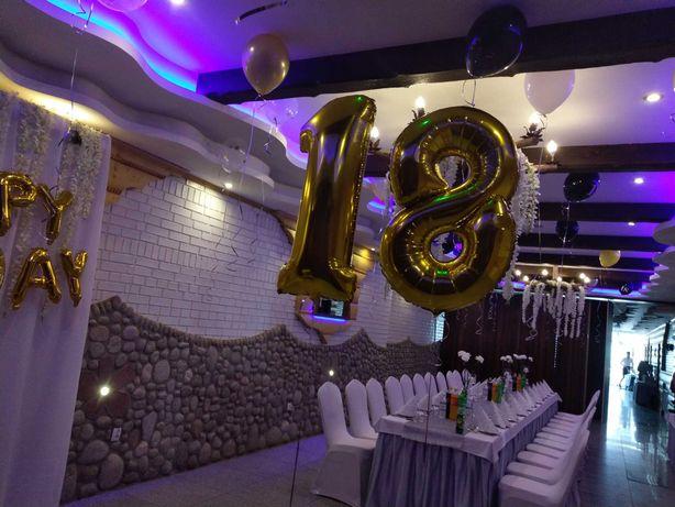 Balon foliowy cyfra 40cal 0-9 na urodziny, rocznicę,dekoracja. Na hel