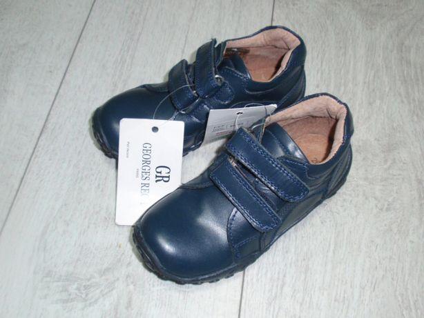 Кожанные ботинки Испания 17,5 см
