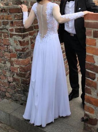Wyjątkowa suknia ślubna Alika