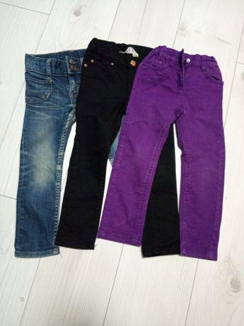 Spodnie 3 pary. Rozmiar 98