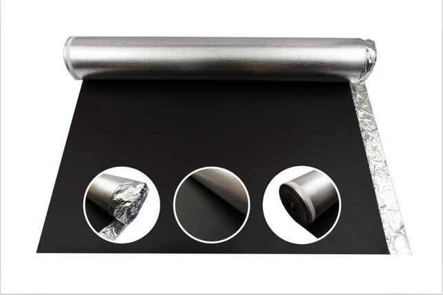 Podkład na ogrzewanie podłogowe alu protect 2mm - pod panele podłogowe