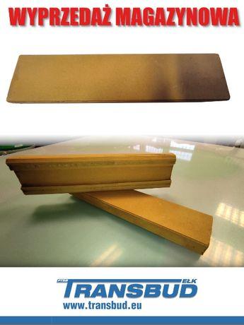Płytka elewacyjna żółta 250x60 mm - WYPRZEDAŻ !