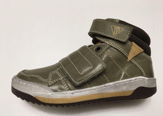 PRIMIGI Италия Size 32 (20,5 см) детские кожаные кроссовки