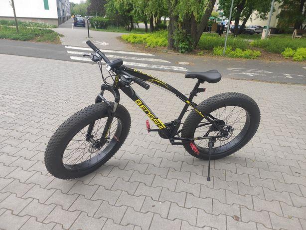 """Rower FAT BIKE Fatbike 26"""" x 4"""" 21 biegów DOINWESTOWANY"""