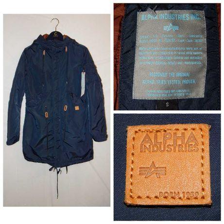 Куртка парка демисезонная Alpha Industries Exparka Coat with Hood