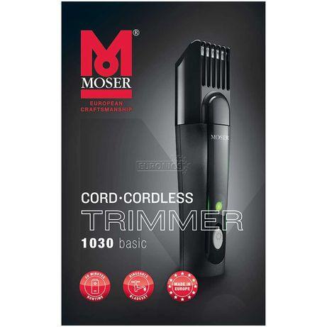 Aparador de Barba PROFISIONAL MOSER 1030, novo caixa selada, garantia
