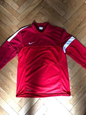 Bluza czerwono biała Nike Dri-Fit roz M treningowa funkcyjna piłkarska