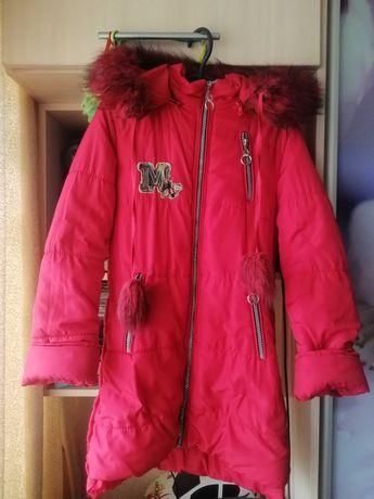 Куртка зима для девочки