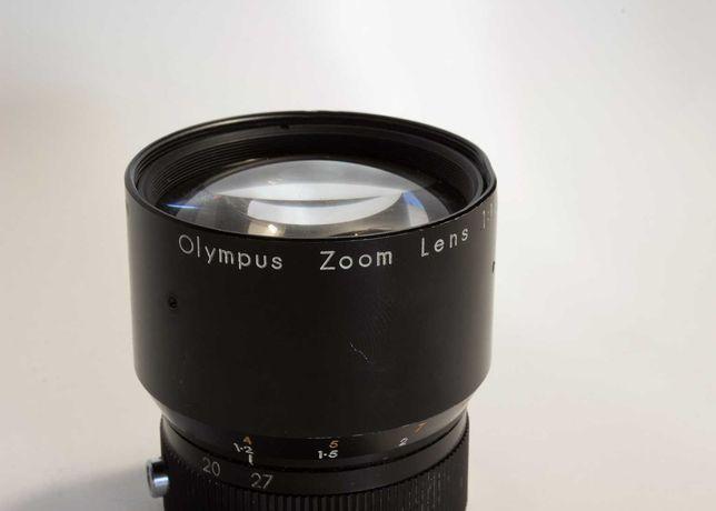 Lente Olympus 1:1.8 f=9-27mm (máquina de filmar PEN 8 EE)