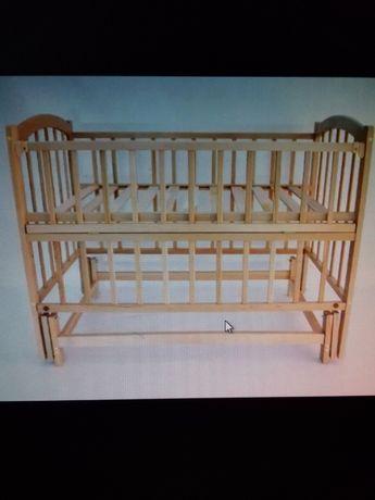 Ліжко люлька дитяча 0-3 роки