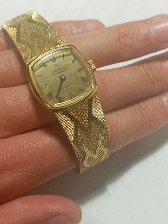 Винтажные швейцарские позолоченные женские часы Omega Conotellation