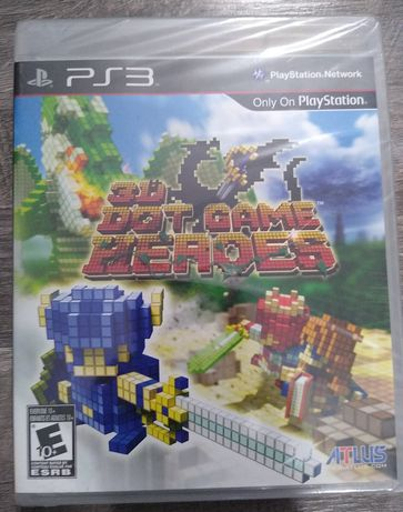3D Dot Game Heroes PS3 - Nowa w folii