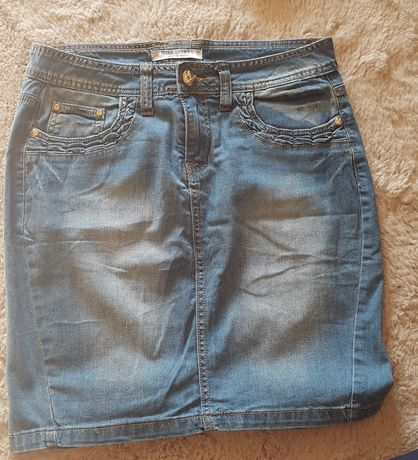 Spódnica jeansowa.