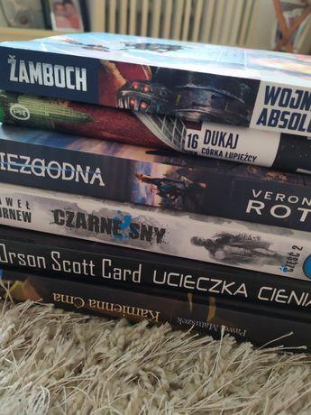 Fantastyka - różne książki