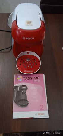 BOSCH Tassimo Happy TAS1006 ekspres do kawy, czerwony