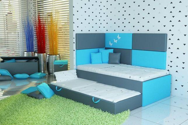 Nowość! Piętrowe łożko dla dzieci i młodzieży + panele ścienne
