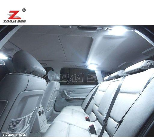 KIT COMPLETO DE 17 LÂMPADAS LED INTERIOR PARA BMW SERIE 3 E91 318D 335D 320D XDRIVE 330XI 330I 318I